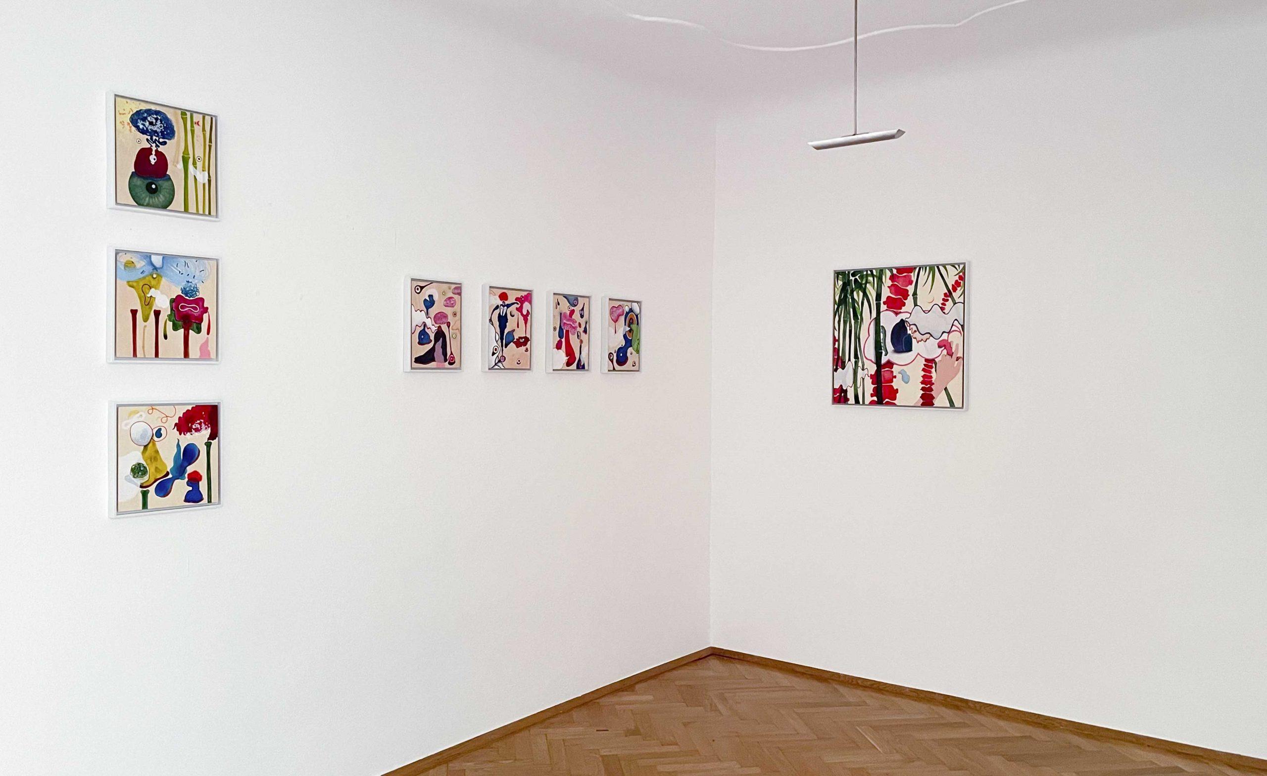 Heterogen, 2021 Galerie Ulrike Hrobsky